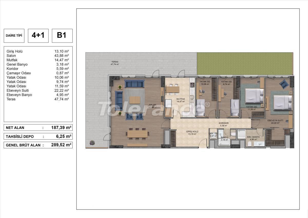 Высококачественные квартиры в Стамбуле с рассрочкой и гарантией аренды на 3 года - 31981 | Tolerance Homes