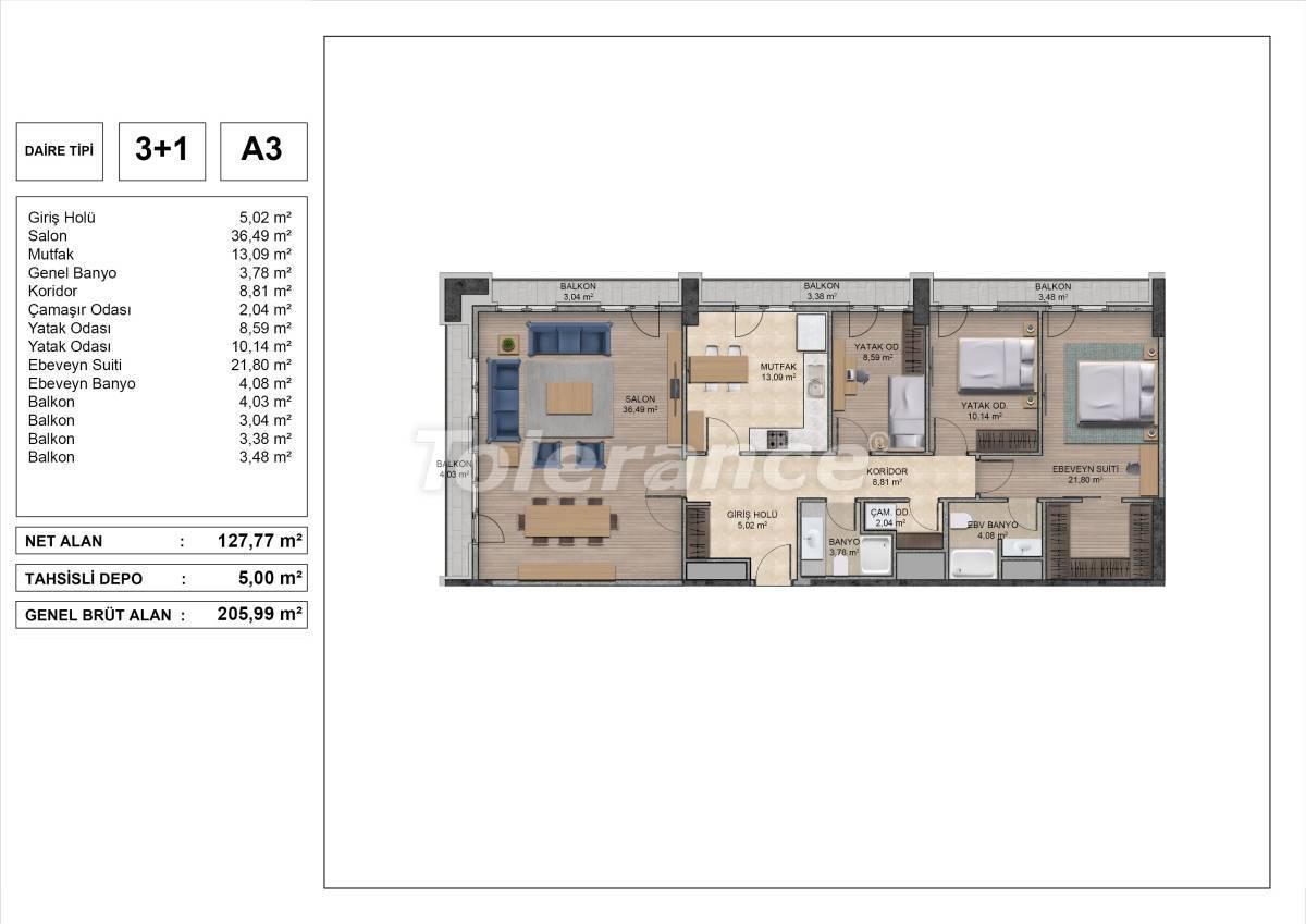Высококачественные квартиры в Стамбуле с рассрочкой и гарантией аренды на 3 года - 31976 | Tolerance Homes