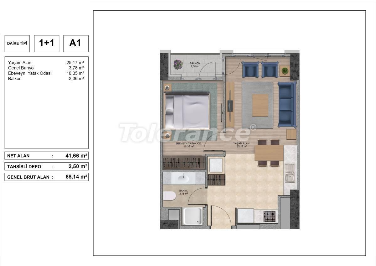 Высококачественные квартиры в Стамбуле с рассрочкой и гарантией аренды на 3 года - 31967 | Tolerance Homes