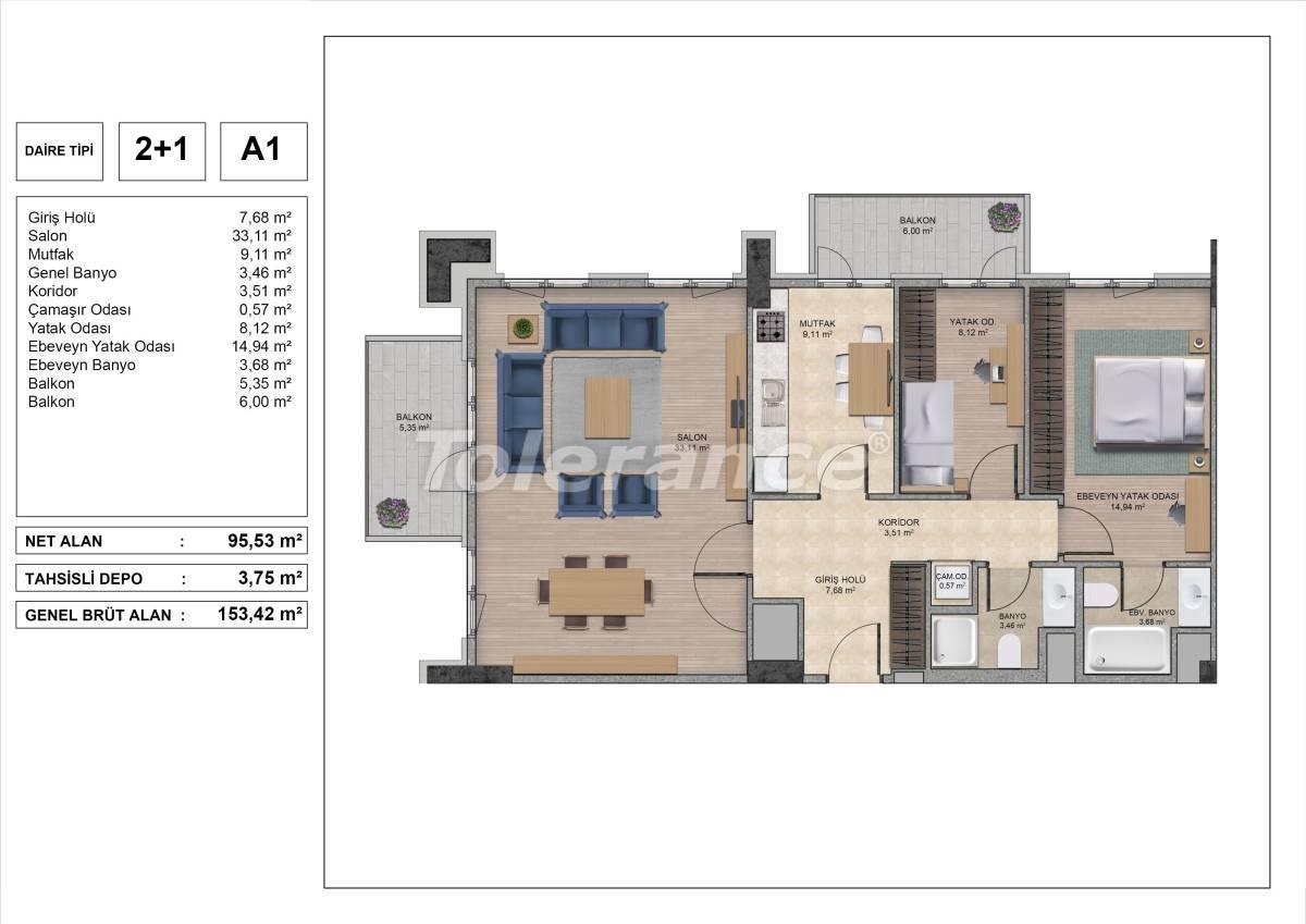 Высококачественные квартиры в Стамбуле с рассрочкой и гарантией аренды на 3 года - 31969 | Tolerance Homes