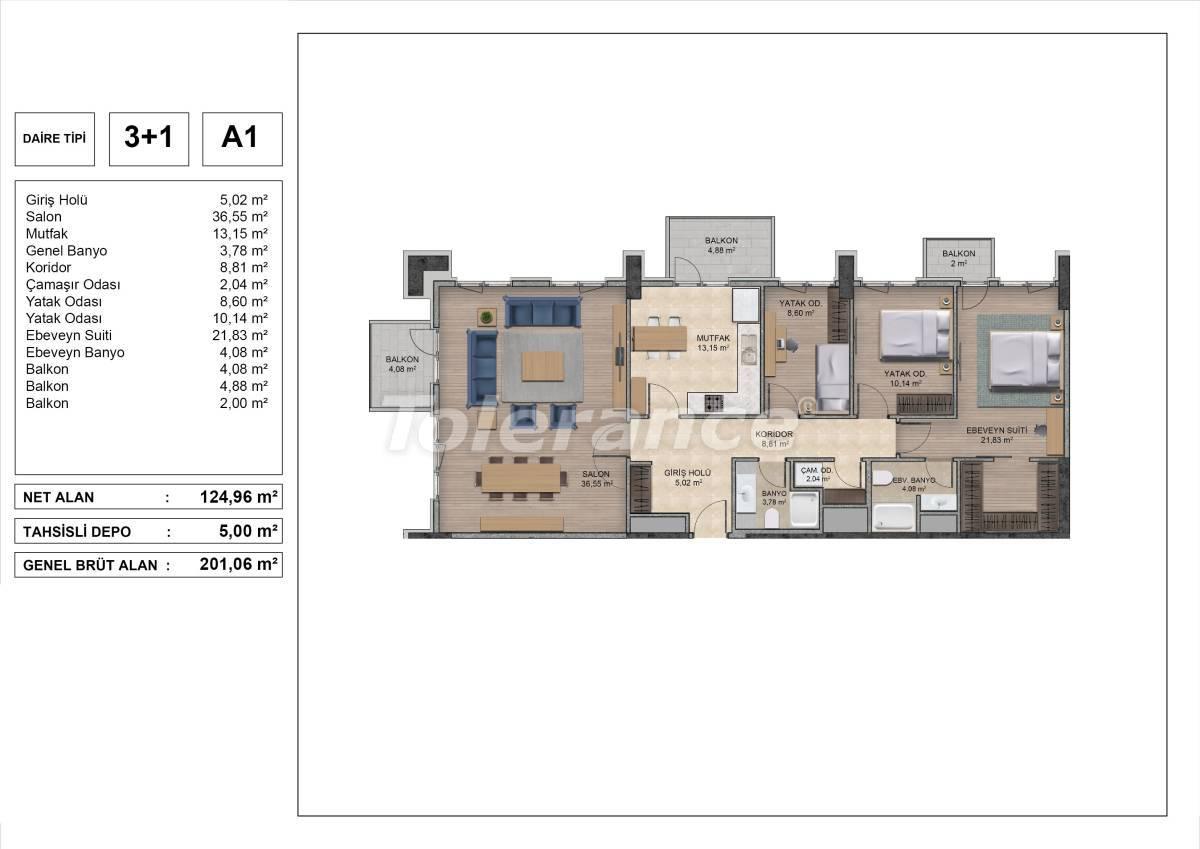 Высококачественные квартиры в Стамбуле с рассрочкой и гарантией аренды на 3 года - 31974 | Tolerance Homes