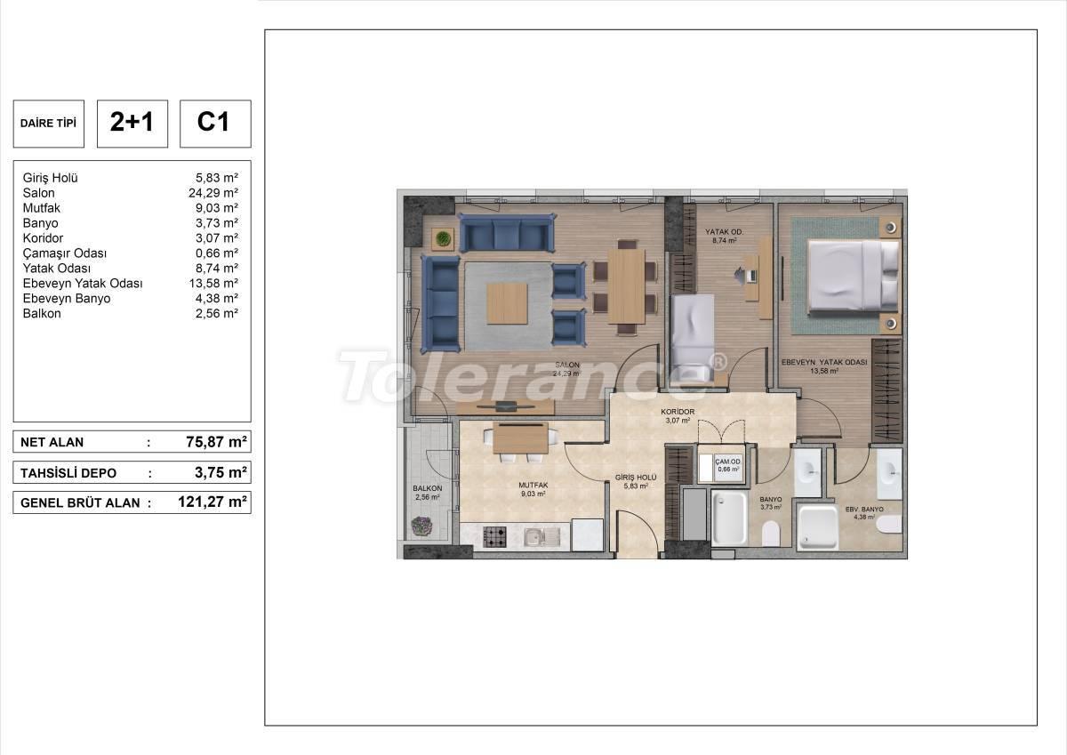 Высококачественные квартиры в Стамбуле с рассрочкой и гарантией аренды на 3 года - 31971 | Tolerance Homes