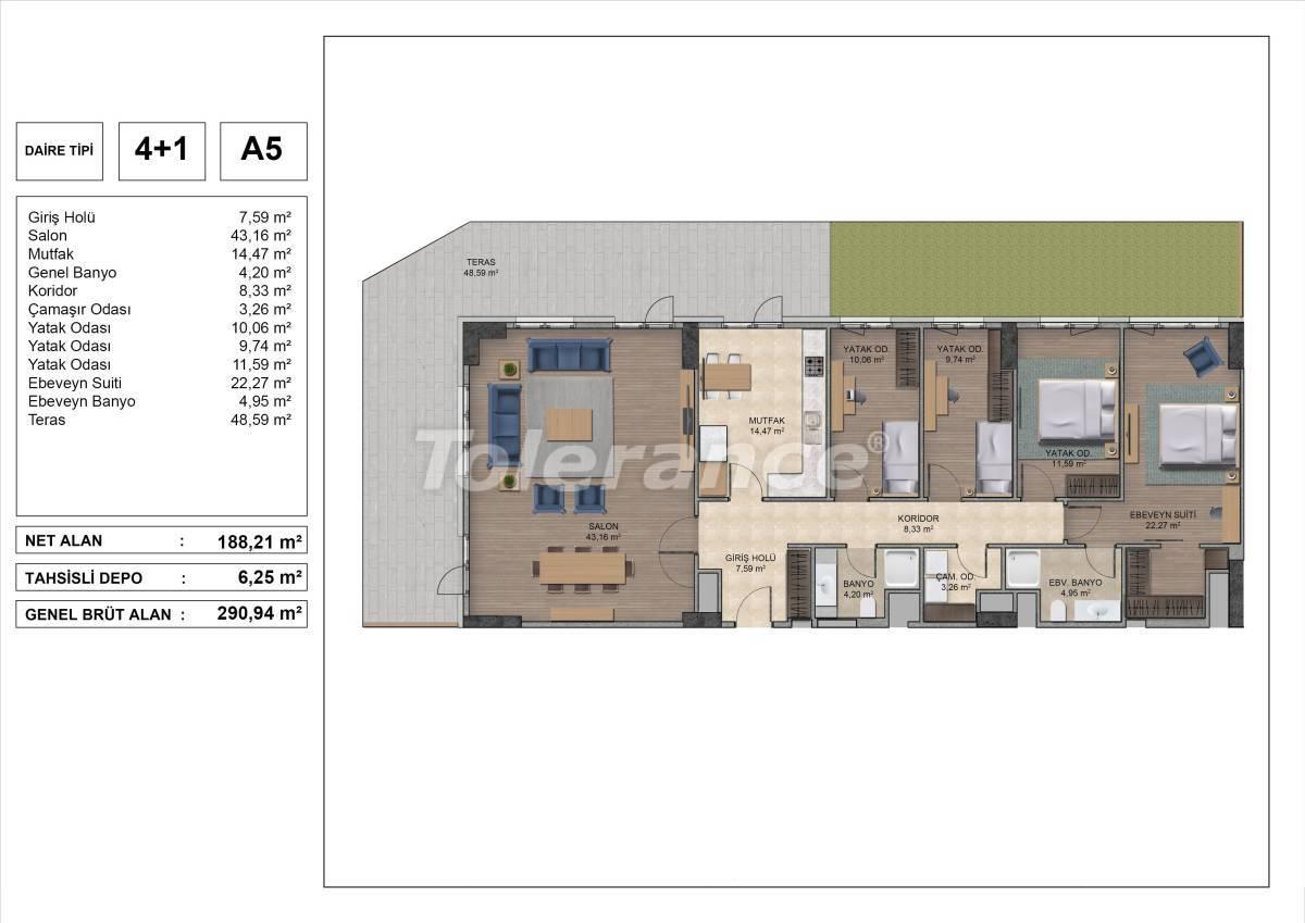 Высококачественные квартиры в Стамбуле с рассрочкой и гарантией аренды на 3 года - 31980 | Tolerance Homes