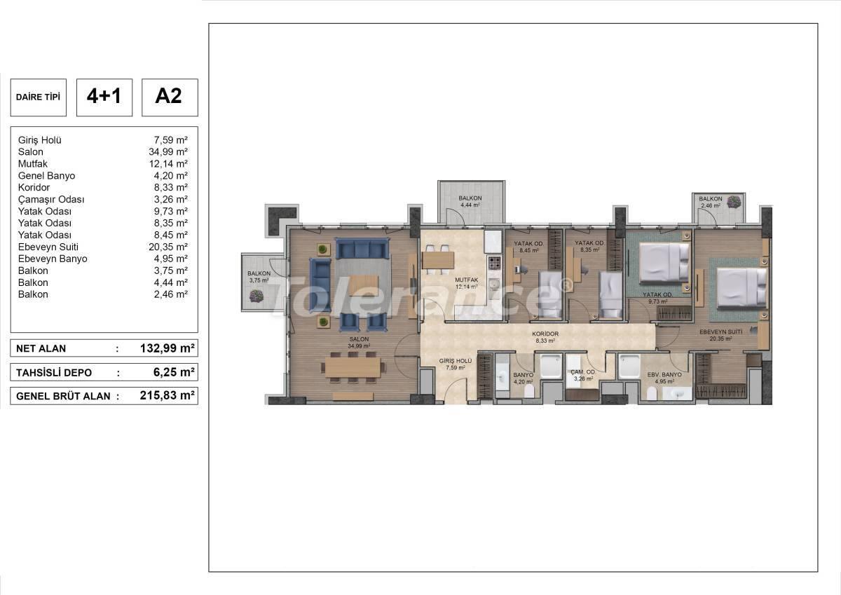 Высококачественные квартиры в Стамбуле с рассрочкой и гарантией аренды на 3 года - 31978 | Tolerance Homes