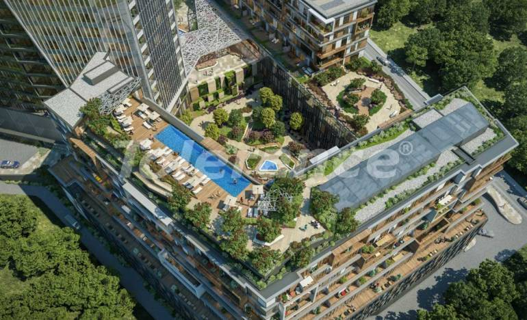 Современные квартиры в Шишли, Стамбул в комплексе с богатой инфраструктурой с рассрочкой от застройщика - 25742 | Tolerance Homes
