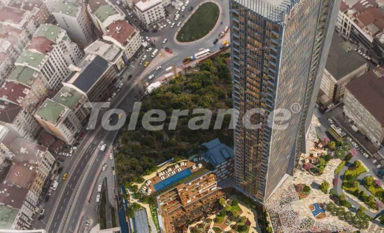 Современные квартиры в Шишли, Стамбул в комплексе с богатой инфраструктурой с рассрочкой от застройщика - 25741 | Tolerance Homes