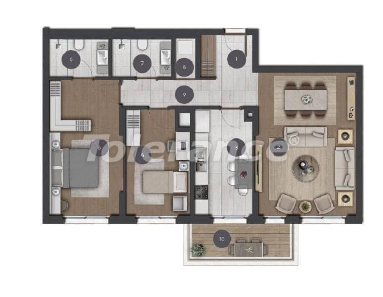 Шикарные просторные квартиры в Стамбуле от застройщика - 27285 | Tolerance Homes