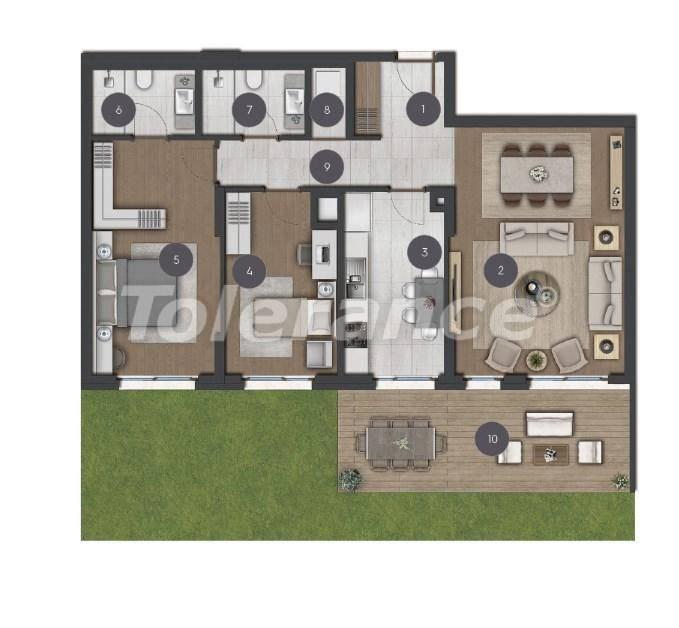 Шикарные просторные квартиры в Стамбуле от застройщика - 27274 | Tolerance Homes