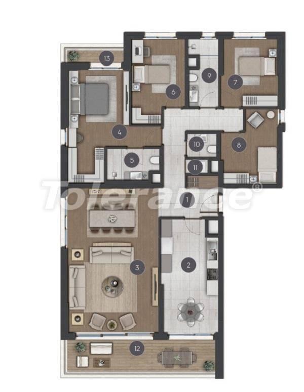 Шикарные просторные квартиры в Стамбуле от застройщика - 27289 | Tolerance Homes