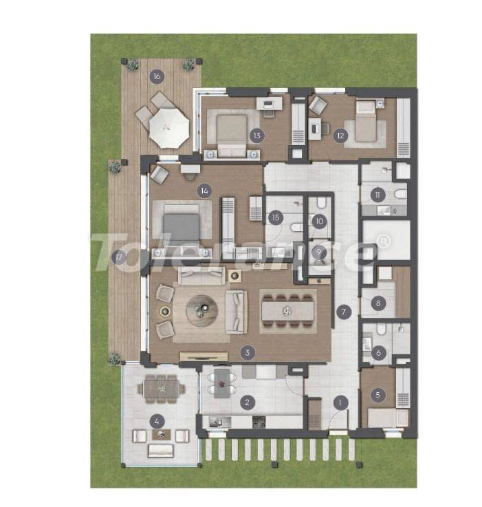 Шикарные просторные квартиры в Стамбуле от застройщика - 27283 | Tolerance Homes