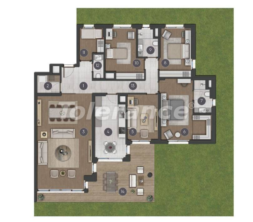 Шикарные просторные квартиры в Стамбуле от застройщика - 27279 | Tolerance Homes