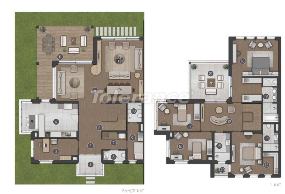 Шикарные просторные квартиры в Стамбуле от застройщика - 27282 | Tolerance Homes