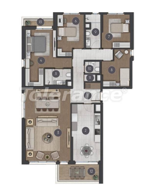 Шикарные просторные квартиры в Стамбуле от застройщика - 27288 | Tolerance Homes