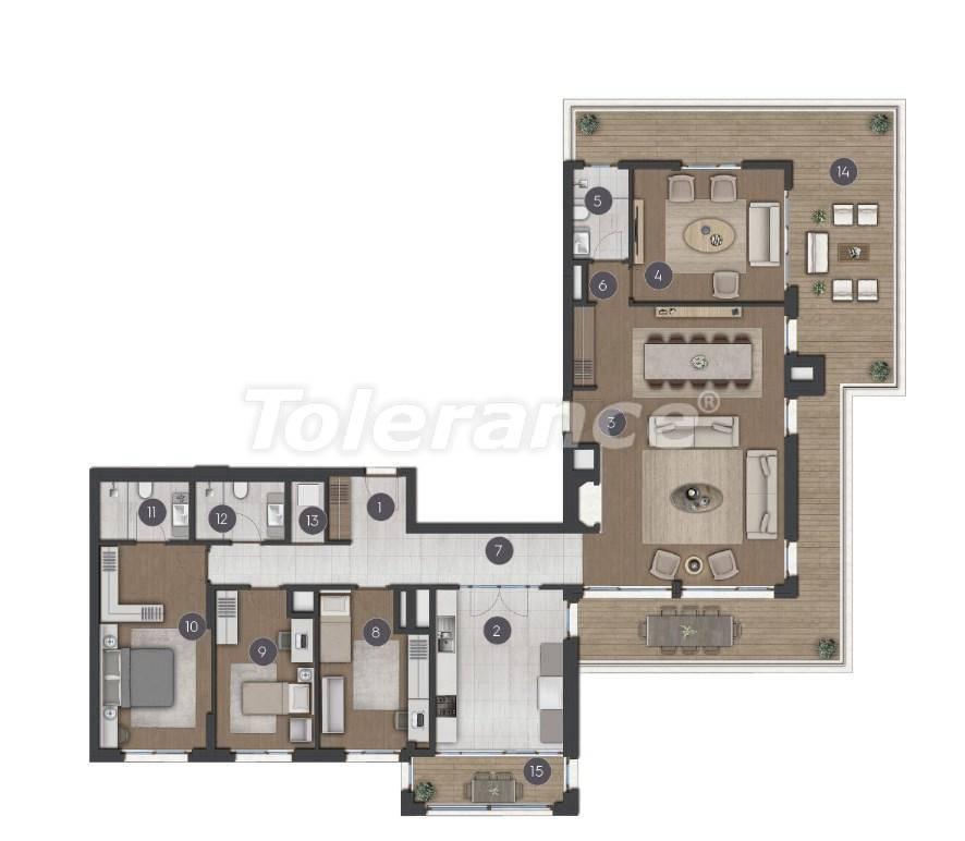 Шикарные просторные квартиры в Стамбуле от застройщика - 27281 | Tolerance Homes