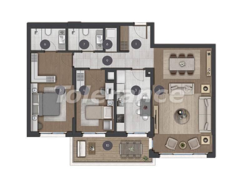 Шикарные просторные квартиры в Стамбуле от застройщика - 27275 | Tolerance Homes
