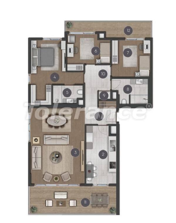 Шикарные просторные квартиры в Стамбуле от застройщика - 27286 | Tolerance Homes