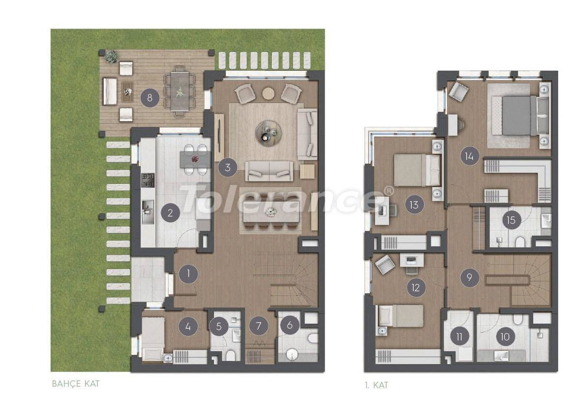 Шикарные просторные квартиры в Стамбуле от застройщика - 27277 | Tolerance Homes