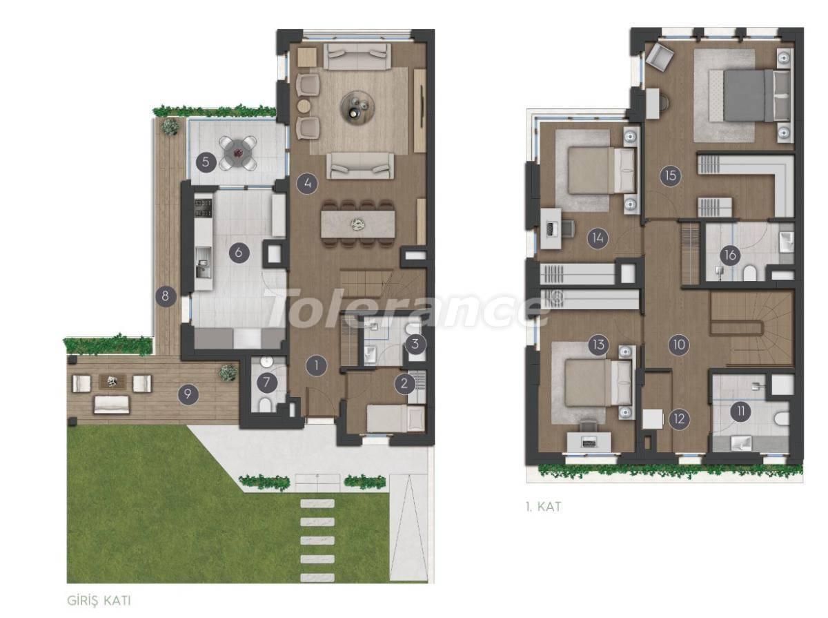 Шикарные просторные квартиры в Стамбуле от застройщика - 27284 | Tolerance Homes