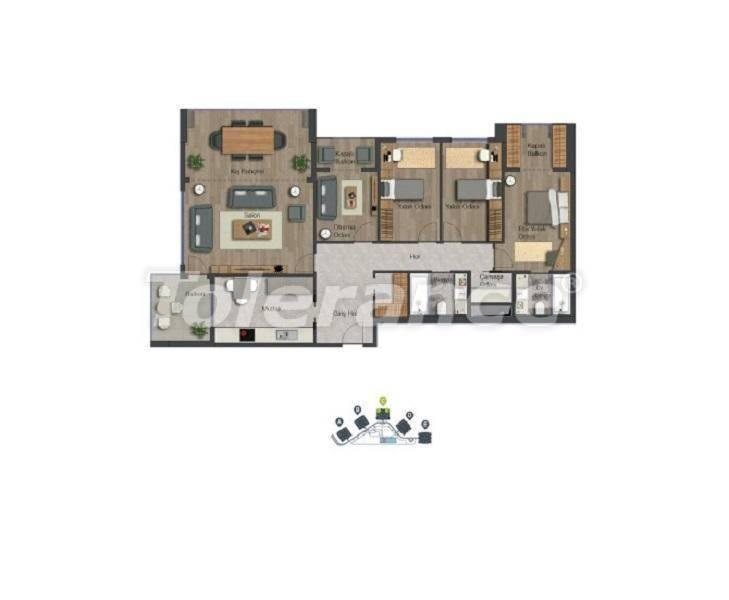 Уютные квартиры в центре Стамбула в современном комплексе с торговым центром, в расрочку от застройщика - 27370 | Tolerance Homes