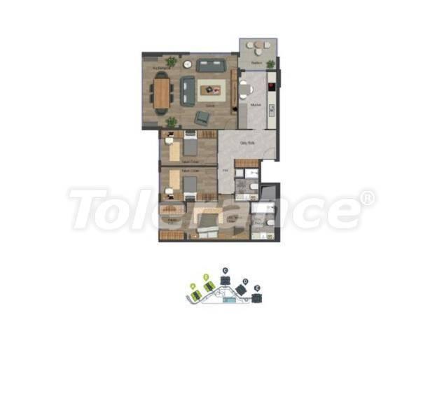 Уютные квартиры в центре Стамбула в современном комплексе с торговым центром, в расрочку от застройщика - 27368 | Tolerance Homes