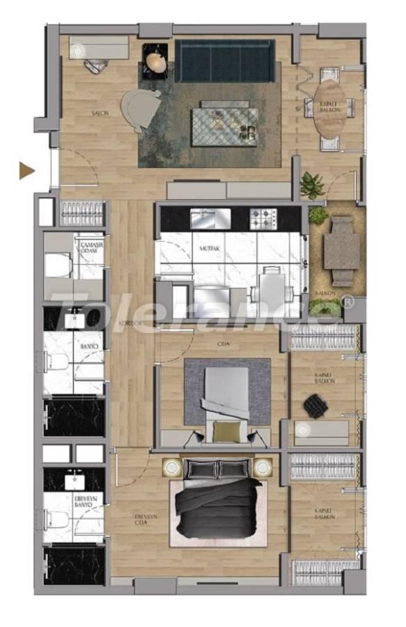 Квартиры и офисы класса люкс в Сарыер, Стамбул рядом с шоссе ТЕМ и Белградским лесом - 27431 | Tolerance Homes