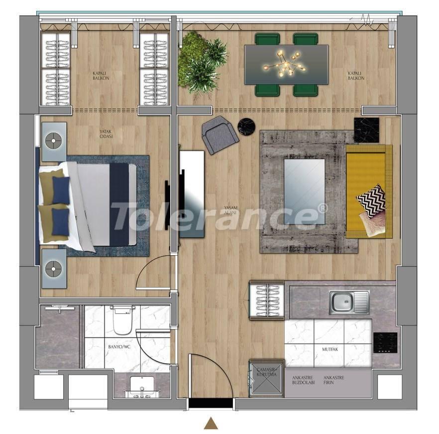 Квартиры и офисы класса люкс в Сарыер, Стамбул рядом с шоссе ТЕМ и Белградским лесом - 27429 | Tolerance Homes
