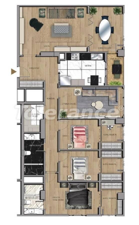 Квартиры и офисы класса люкс в Сарыер, Стамбул рядом с шоссе ТЕМ и Белградским лесом - 27436 | Tolerance Homes
