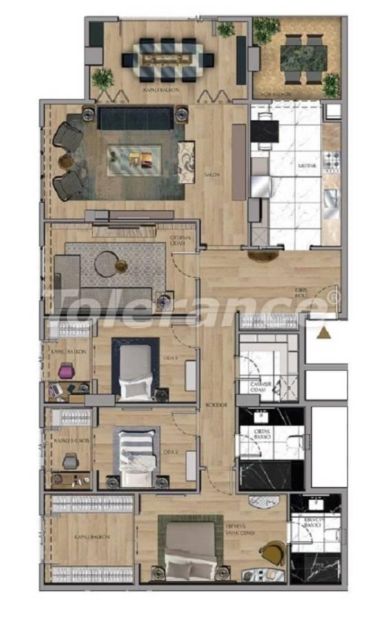 Квартиры и офисы класса люкс в Сарыер, Стамбул рядом с шоссе ТЕМ и Белградским лесом - 27435 | Tolerance Homes