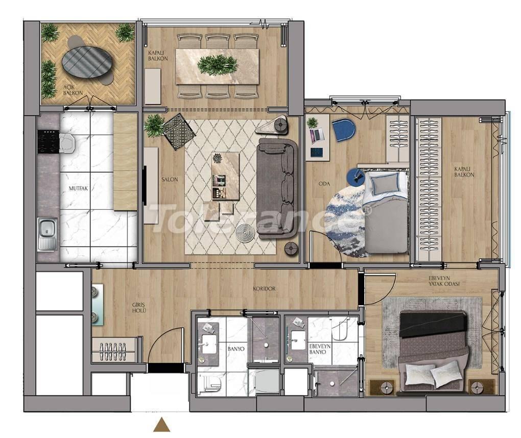 Квартиры и офисы класса люкс в Сарыер, Стамбул рядом с шоссе ТЕМ и Белградским лесом - 27430 | Tolerance Homes