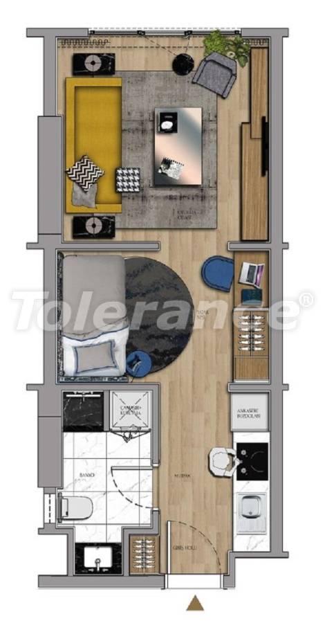 Квартиры и офисы класса люкс в Сарыер, Стамбул рядом с шоссе ТЕМ и Белградским лесом - 27427 | Tolerance Homes