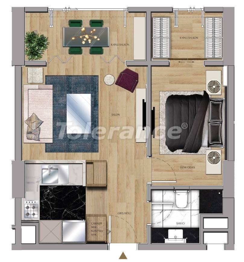 Квартиры и офисы класса люкс в Сарыер, Стамбул рядом с шоссе ТЕМ и Белградским лесом - 27428 | Tolerance Homes