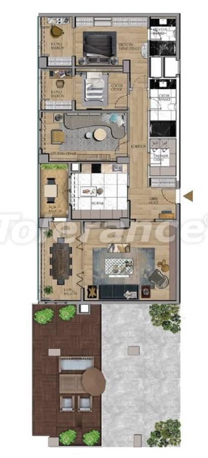 Квартиры и офисы класса люкс в Сарыер, Стамбул рядом с шоссе ТЕМ и Белградским лесом - 27432 | Tolerance Homes