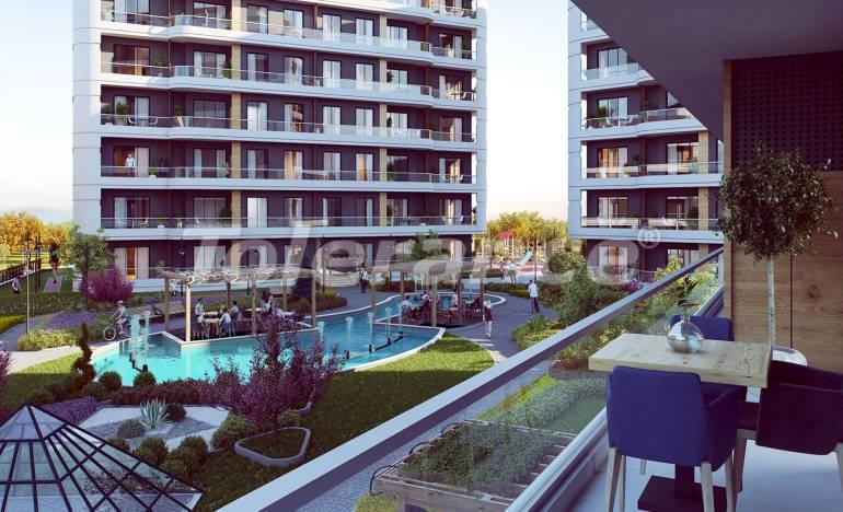 Квартиры класса люкс в Авджиларе, Стамбул в комплексе с богатой инфраструктурой и с видом на озеро - 25870   Tolerance Homes