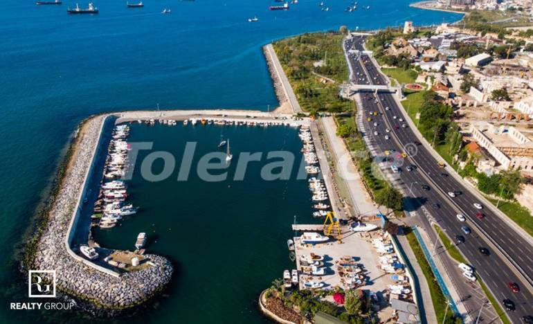 Роскошные квартиры в Стамбуле с видом на море, с возможностью получения Турецкого гражданства - 26001   Tolerance Homes