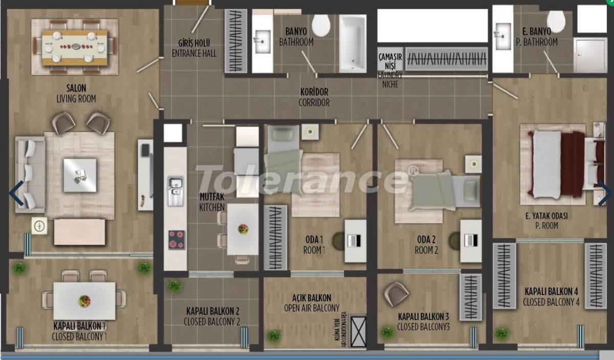 Квартиры в районе Картал, Стамбуле в проекте с государственной гарантией - 36298   Tolerance Homes