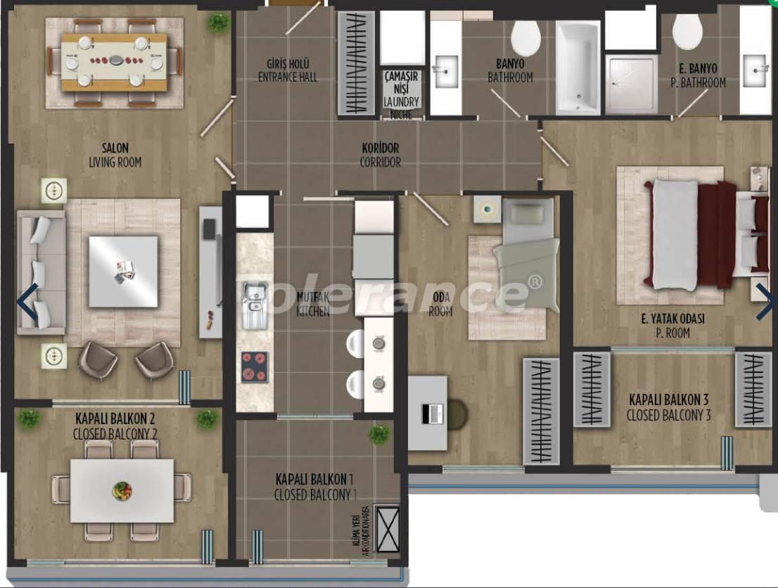 Квартиры в районе Картал, Стамбуле в проекте с государственной гарантией - 36302   Tolerance Homes