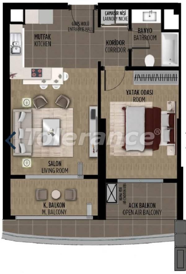 Квартиры в районе Картал, Стамбуле в проекте с государственной гарантией - 36300   Tolerance Homes
