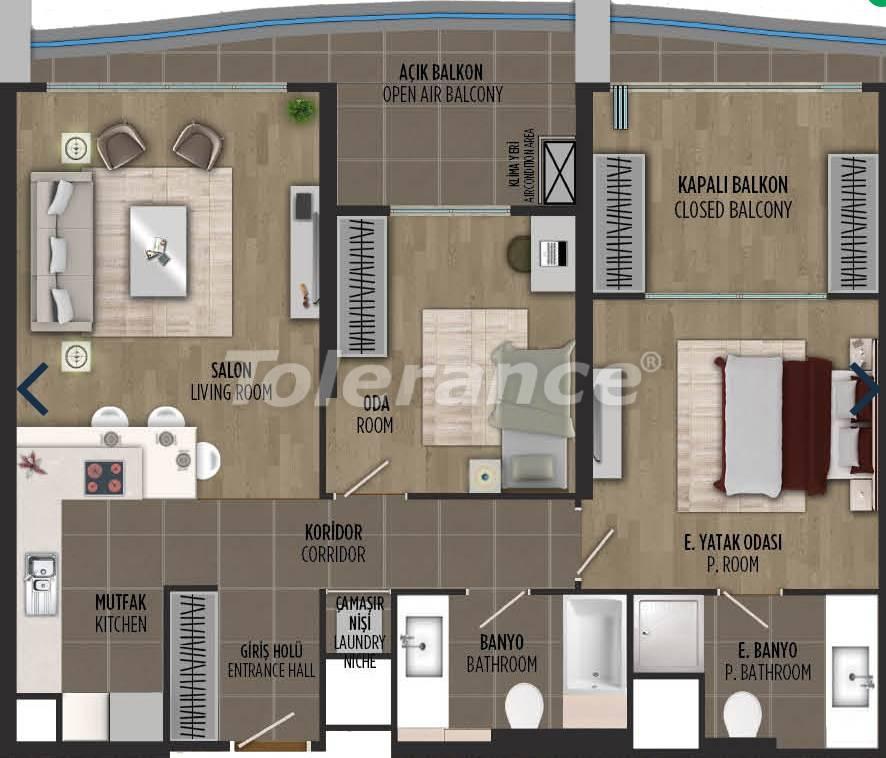 Квартиры в районе Картал, Стамбуле в проекте с государственной гарантией - 36301   Tolerance Homes