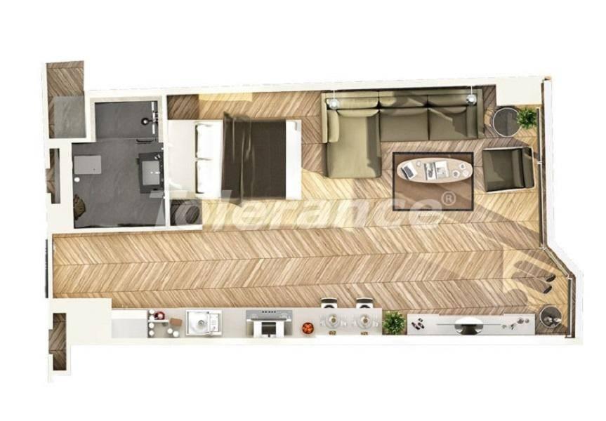 Шикарные квартиры в Стамбуле в комплексе под управлением знаменитой отельной сети - 27540 | Tolerance Homes