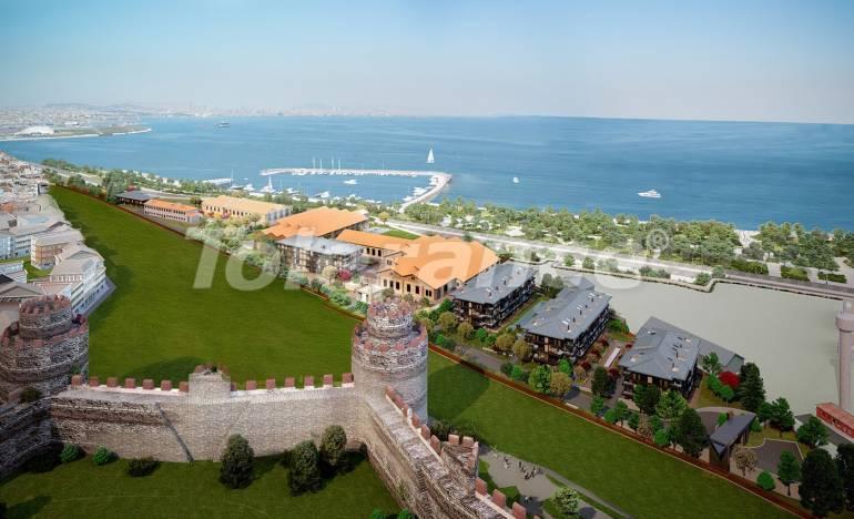 Современный комплекс с квартирами класса люкс в Стамбуле с видом на море в рассрочку от застройщика - 26462 | Tolerance Homes