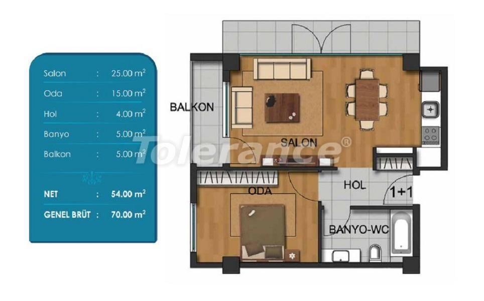 Просторные квартиры в Бейликдюзю, Стамбул с рассрочкой от застройщика - 27294 | Tolerance Homes