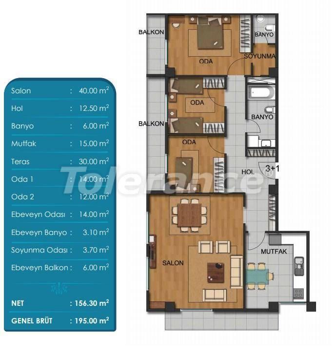Просторные квартиры в Бейликдюзю, Стамбул с рассрочкой от застройщика - 27296 | Tolerance Homes