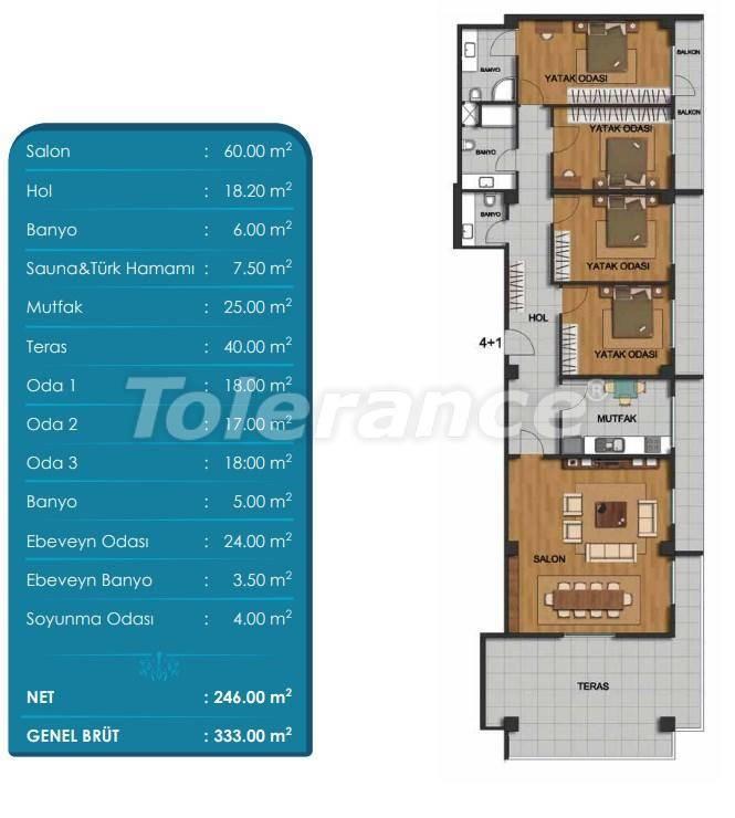 Просторные квартиры в Бейликдюзю, Стамбул с рассрочкой от застройщика - 27297 | Tolerance Homes