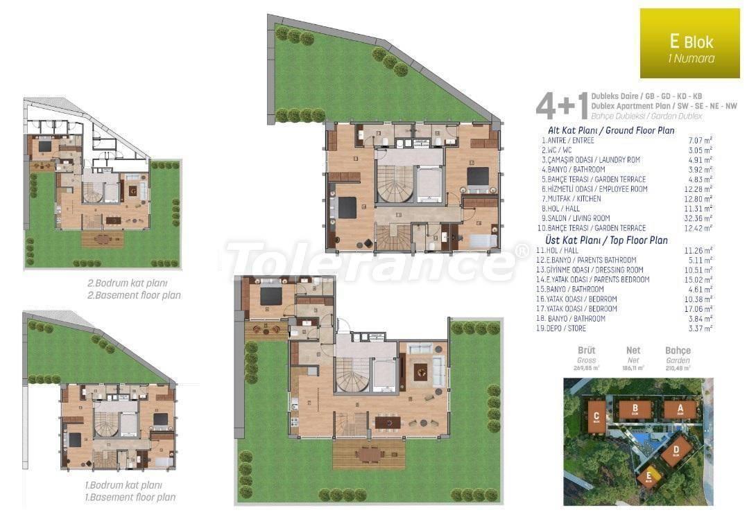Квартиры класса люкс в Стамбуле в комплексе с богатой инфраструктурой - 27252 | Tolerance Homes