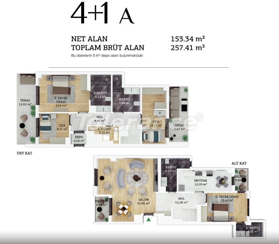 Современные квартиры в центре Стамбула в рассрочку от застройщика - 38965 | Tolerance Homes
