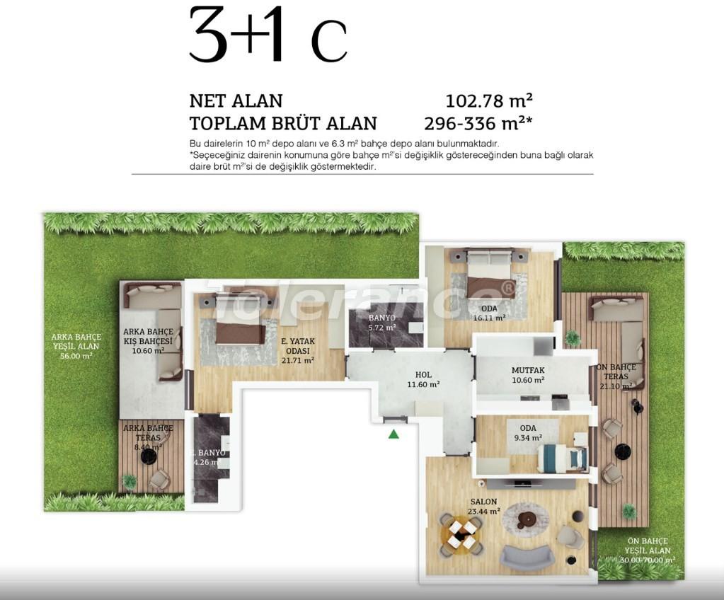 Современные квартиры в центре Стамбула в рассрочку от застройщика - 38967 | Tolerance Homes