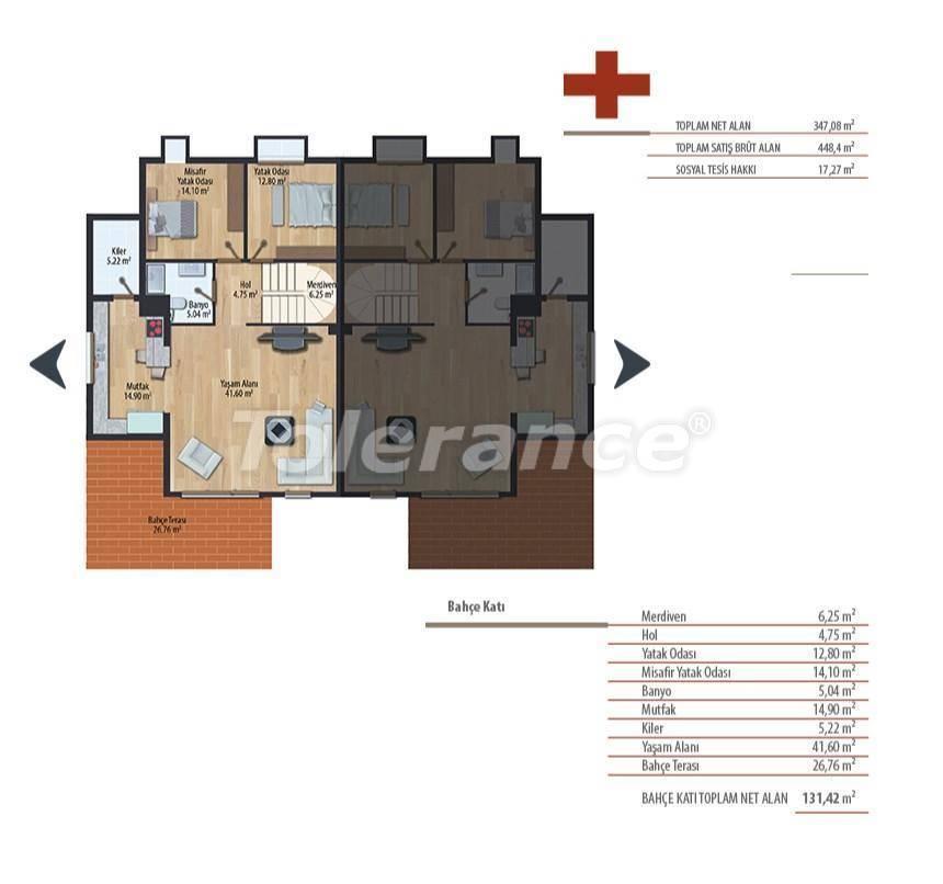 Роскошные виллы в Стамбуле в комплексе с бассейном - 27236 | Tolerance Homes