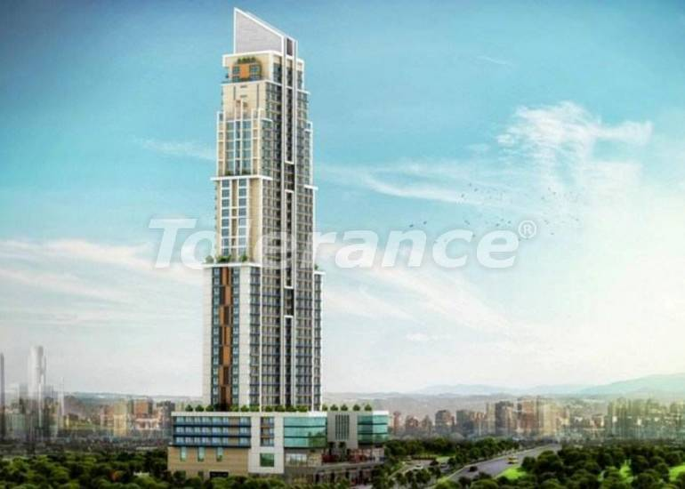 Инвестиционный проект в Стамбуле:  квартиры в современном комплексе, с рассрочкой от застройщика - 27221   Tolerance Homes