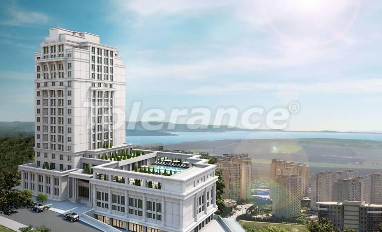 Квартиры класса люкс в Стамбуле с рассрочкой в комплексе отельного типа с гарантией аренды - 26564 | Tolerance Homes