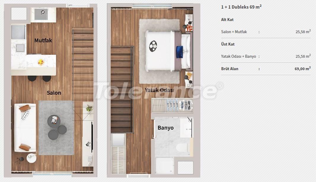 Квартиры в центре Стамбула в комплексе с концепцией отеля, в рассрочку от застройщика - 27062 | Tolerance Homes